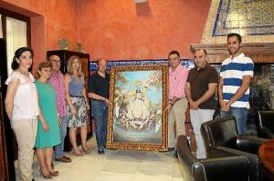La Palma cuadros Virgen del Valle