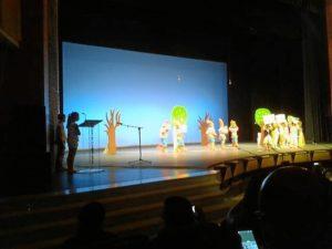 Imagen de archivo de la Muestra de Teatro Escolar de Lepe.