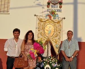 Ofrenda floral Pozo del Camino (1)
