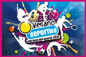 Cartel del Programa de Actividades de verano en San Juan del Puerto.