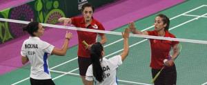 Laura Molina y Haideé Ojeda en los Juegos Europeos de Bakú.