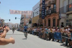 Circuito ciclista en San Juan del Puerto.