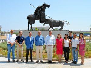Monumento homenaje a Antonio Cruz en San Juan
