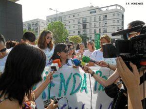 protesta en huelva VPO 4