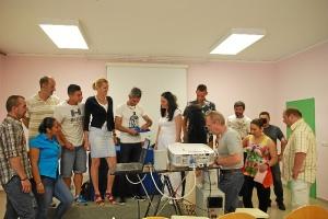 rafael adamuz en el club de lectura de la carcel de Huelva-079