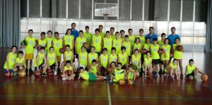Campus de Baloncesto y voley-playa en San Juan del Puerto.