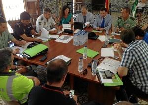 20150713 Junta Local Seguridad Cortegana Medievales