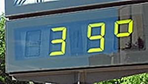 39 grados
