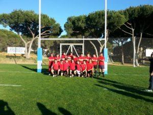 Huelva Unión Rugby sub 18.