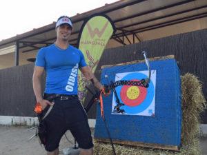 Miguel Ángel Medina, tirador con arco.
