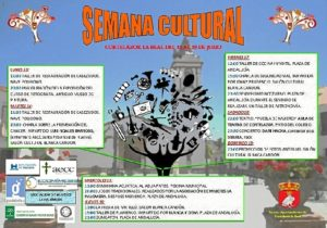 CARTEL SEMANA CULTURAL 2015 CORTELAZOR