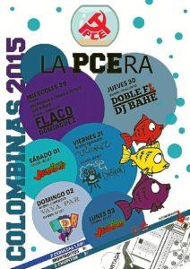 Cartel Pecera 2015