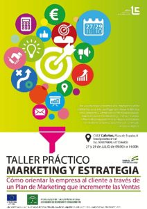 Cartel Taller Marketing y Estrategia