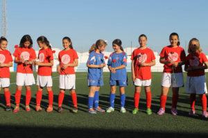 Fútbol femenino en Bollullos del Condado.