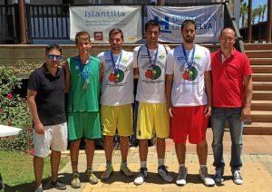 Ganadores de la prueba de Baloncesto 3x3 Islantilla 01