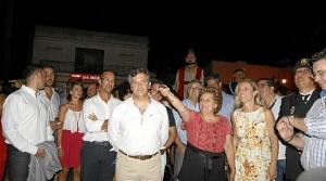 La Alcaldesa fue la encargada de encender el Alumbrado de la Feria