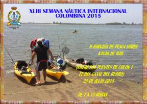 Pesca sobre Kayak de mar SNIC 2015.