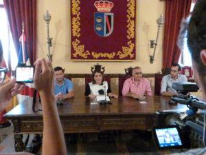 Rueda de Prensa alcaldes en Almonte