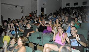ambiente en el publico
