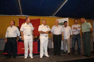La Armada estuvo presente en la Regata Colombina de cruceros.