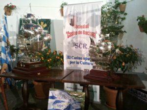 Carabelas del Trofeo Colombino en el Casino de Rociana.