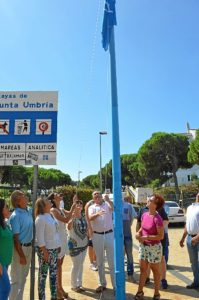 bandera azul playa punta umbria-49