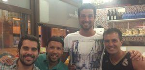 Jugadores del Por Huelva.
