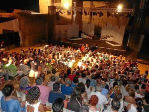 gran velada dedicada al teatro