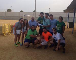 Olimpiadas Infantiles en Pérez Cubillas.