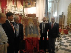 CARTEL CORONACION VIRGEN DE LOS DOLORES HUELVA 9660