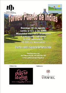Cartel Torneo Puerto de Indias