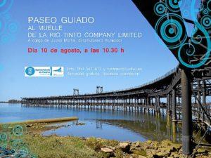 Cartel Visita Muelle 10 agosto