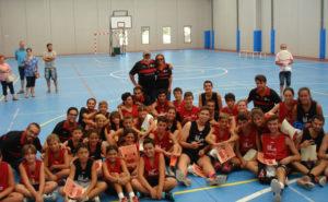 Clausura del III Campus EB Siente Huelva.