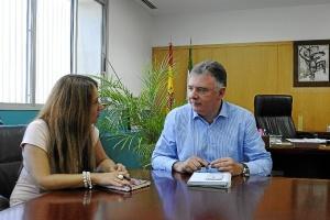 Reunión con la delegada de Economía.