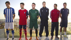Equipaciones Recreativo temporada 2015/16.