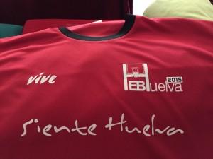 Camiseta del Campus de la EB Siente Huelva.