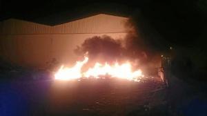 Incendio Punta del Moral