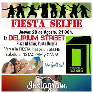 Juventud Fiesta Selfie
