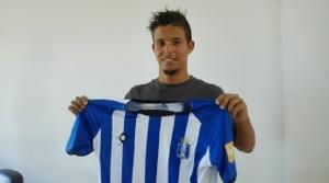 Kikas, nuevo jugador del Recreativo de Huelva.