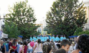Los Talleres de Baile dinamizaron la Plaza de las Flores