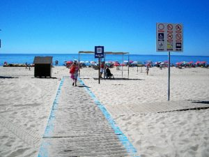 Playa de La Antilla.