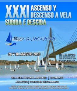 Cartel del XXXI Ascenso y Descenso del Guadiana.