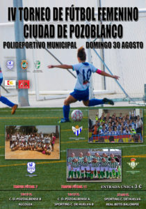 Torneo de fútbol femenino entre el Betis y el Fundación Cajasol Sporting.