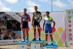 criterium ciclismo huelva podio elite