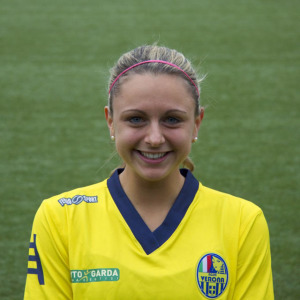 Verónica Napoli, nueva jugadora del Fundación Cajasol Sporting.
