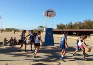 Circuito Provincial de baloncesto en Moguer.
