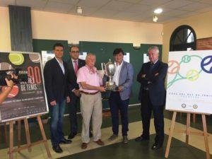 Presentación de la 90 Copa del Rey de tenis de Huelva.