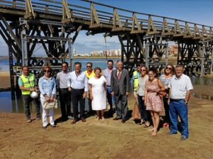20150915 Subdelegado Puente de La Gola Isla Cristina