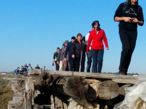 Grupo de senderismo 'Los del Plomillazo'.