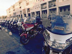 Alguna de las motos participantes